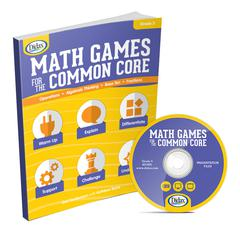 DIDAX MATH GAMES FOR THE COMMON CORE GR 3
