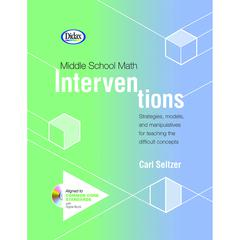 DIDAX MIDDLE SCHOOL MATH INTERVENTIONS BOOK & CD
