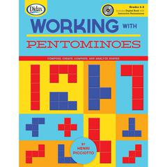 DIDAX WORKING WITH PENTOMINOES BOOK & CD