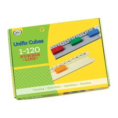 DIDAX UNIFIX 1-120 NUMBER LINE
