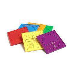 DOUBLE SIDED GEOBOARD SET
