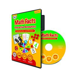 DIDAX MATH FACTS INTERACTIVE RESOURCES MULTIPLICATION & DIVISION