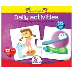 DEXTER EDUCATIONAL TOYS MAKE A MATCH PUZZLES DAILY ACTIVITIES