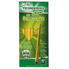 LADDIE TRI WRITE 36CT INTERMEDIATE PENCILS WITHOUT ERASER