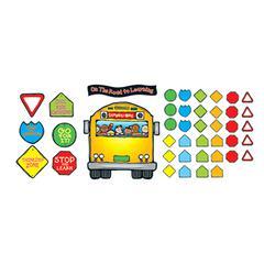 CARSON DELLOSA SCHOOL BUS BULLETIN BOARD SET