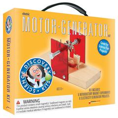 SCIENCE SET MOTOR/GENERATOR