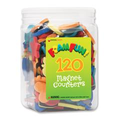 DOWLING MAGNETS FOAM FUN MAGNET COUNTERS