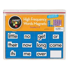 MAGNET LITERACY HIGH FREQUENCY WORD MAGNETS GR 1-2