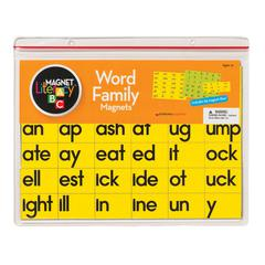 DOWLING MAGNETS MAGNET LITERACY WORD FAMILY MAGNETS