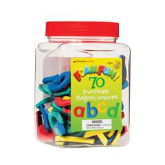 DOWLING MAGNETS FOAMFUN MAGNETS LOWERCASE LETTERS