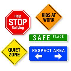 SCHOOL SIGNS MAGNET SET