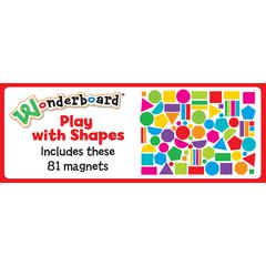 PLAY WITH SHAPES MAGNET SET