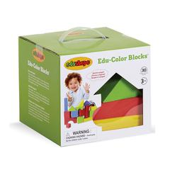 EDUSHAPE EDUCOLOR BLOCKS 30 PCS