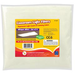 CLASSROOM MOOD FILTERS 4/SET WHISPER WHITE