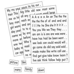 MAGNETIC SIGHT WORDS & SENTENCE BUILDERS
