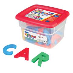 ALPHAMAGNETS JUMBO UPPERCASE 42 PCS MULTICOLORED