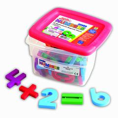 LEARNING RESOURCES MATHMAGNETS JUMBO 42/PK 2-1/2 MULTICOLORED