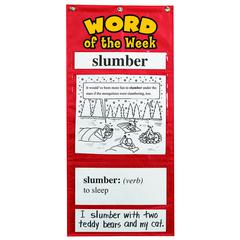 LEARNING RESOURCES WORD OF THE WEEK GR 3-4