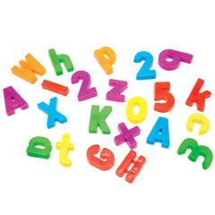MAGNETIC ALPHABET & NUMBERS 99 PCS
