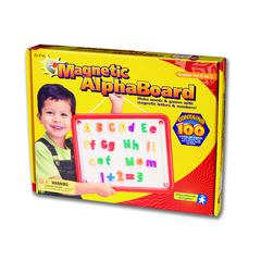LEARNING RESOURCES MAGNETIC ALPHABOARD 99 PCS 11 X 14