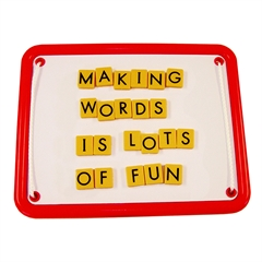 LEARNING RESOURCES MAGNETIC TEACHING TILES UPPERCASE LETTERS