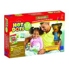 LEARNING RESOURCES HOT DOTS TOTS ANIMALS