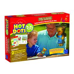 LEARNING RESOURCES HOT DOTS TOTS MY WORLD