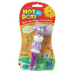 KAT THE TALKING TEACHING KITTY PEN FOR HOT DOTS JR