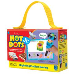 LEARNING RESOURCES HOT DOTS JR PROBLEM SOLVING