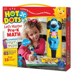 LEARNING RESOURCES HOT DOTS JR LETS MASTER MATH GR PK