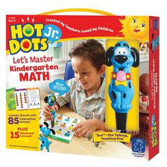 LEARNING RESOURCES HOT DOTS JR LETS MASTER MATH GR K