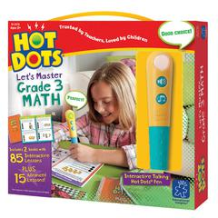 LEARNING RESOURCES HOT DOTS JR LETS MASTER MATH GR 3