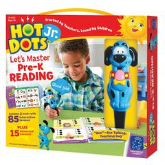 LEARNING RESOURCES HOT DOTS JR LETS MASTER READING GR PK
