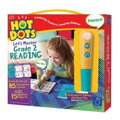 LEARNING RESOURCES HOT DOTS JR LETS MASTER READING GR 2