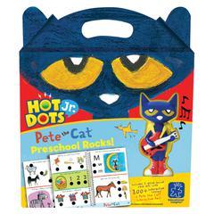 HOT DOTS JR PETE THE CAT PRESCHOOL ROCKS SET & PEN