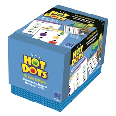 LEARNING RESOURCES GR 2 HOT DOTS STANDARDS-BASED MATH REVIEW CARDS