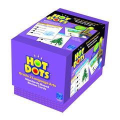 LEARNING RESOURCES HOT DOTS STANDARDS BASED LANGUAGE ARTS 2