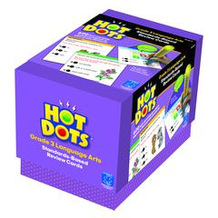 LEARNING RESOURCES HOT DOTS STANDARDS BASED LANGUAGE ARTS 3