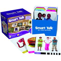 LEARNING RESOURCES SMART TALK CARD SET SET 1 HOME & FAMILY