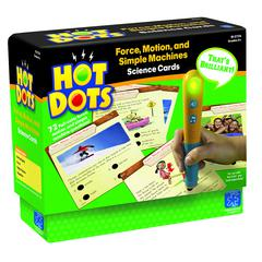 LEARNING RESOURCES HOT DOTS SCIENCE SET FORCE & MOTION