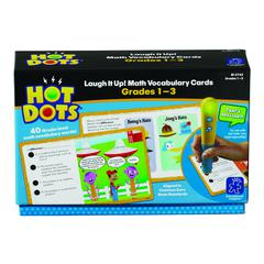 LEARNING RESOURCES GR 1-3 HOT DOTS LAUGH IT UP MATH VOCABULARY