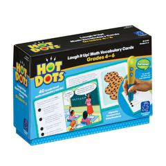 GR 4-6 HOT DOTS LAUGH IT UP MATH VOCABULARY