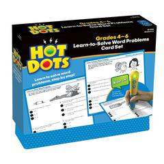 HOT DOTS LEARN TO SOLVE WORD PROBLEM SET GR 4-6