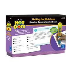 LEARNING RESOURCES HOT DOTS READING COMPREHENSION KITS SET 1 GETTING THE MAIN IDEA