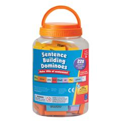 LEARNING RESOURCES SENTENCE BUILDING DOMINOES 228 PCS