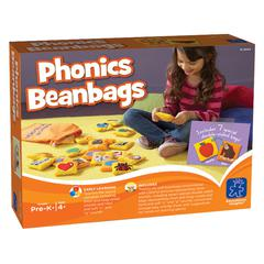 LEARNING RESOURCES EXCEPTIONAL PHONICS BEAN BAGS