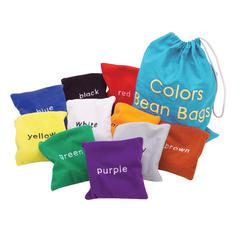 LEARNING RESOURCES COLORS BEAN BAGS