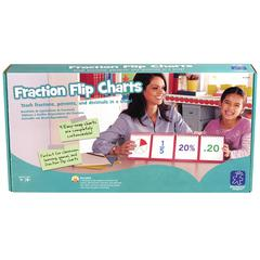 LEARNING RESOURCES FRACTIONS MODULAR FLIP CHARTS
