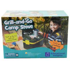 LETS PRETEND GRILL & GO CAMP STOVE