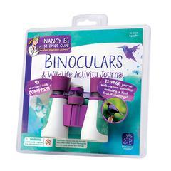 LEARNING RESOURCES NANCY B SCIENCE CLUB BINOCULARS & WILDLIFE ACTIVITY JOURNAL